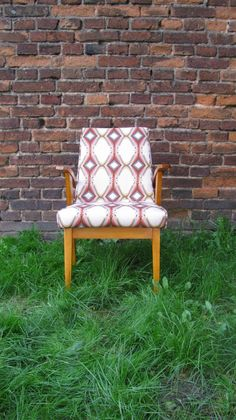 Chair with Destiny fabric from Parris Wakefield Additions http://wzorywidze.pl/shop/products/show/id/2490