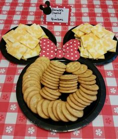 bandeja de galletas de mickey mouse