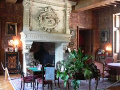 Fireplace in Chateau d'Azay le Rideau.  Beautiful, isn't it?