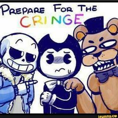 It's like the passing of the torch  from the two game fandoms that have decent (FNAF) to excellent (Undertale) games but cringy as heck fanbases to another.