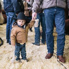 Mini cowboys melt my heart