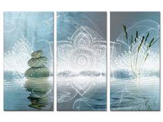 Tableau zen relaxation pas cher - Tableau panoramique sur toile