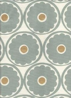 upholstery for my new dining room chairs maybe? Paint the walls sage green and have creme curtains?