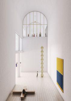 Galería de Conoce en detalle las 13 menciones honrosas del concurso de expansión del Museo de Arte de Lima (MALI) - 27