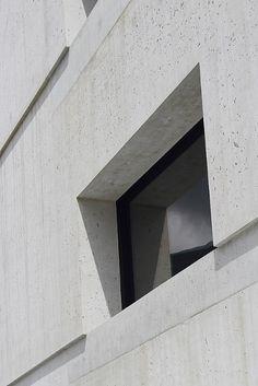Center dal Parc Naziunal a Zernez, Switzerland | Architect : Valerio Olgiati | Image : trevor.patt