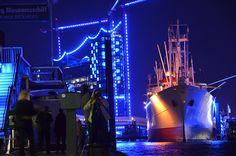 Blue Port: Rickmer Rickmers von Angela Scheefeld