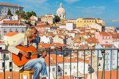 Alfama Guitar Player