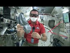 Taking Care of Spills on the Space Station | CSA ISS Science Video