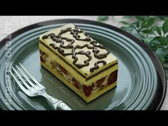Prajitura Rumba cu nuca,visine si foi de napolitana | Adygio Kitchen - YouTube Food Cakes, Chocolate Cake, Waffles, Cake Recipes, Bakery, Food And Drink, Sweets, Cookies, Breakfast