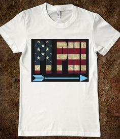 USA Pi Phi shirt #piphi #pibetaphi