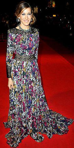 floral Elie Saab gown