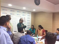 Mr. Ajit Shah, Faculty of the Training Programme asking feedback from the participants