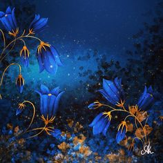 Secret Garden Art Print by AOdesign - X-Small Digital Illustration, Aquarium, Watercolor, Garden, Painting, Art, Goldfish Bowl, Pen And Wash, Art Background
