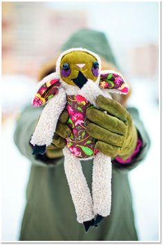 Handmade Toys, Softies, Sheep, Lamb