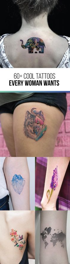 60+ Cool Tattoo Designs Every Woman Wants | TattooBlend