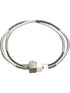 Lanvin Bolt Detail Bracelet 4