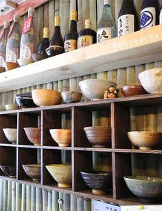 Interior setting of a Japanese Restaurant in Korea Mexican Restaurant Decor, Japanese Restaurant Interior, Oriental Restaurant, Ramen Restaurant, Restaurant Interior Design, Cafe Interior, Restaurant Ideas, Japanese Interior Design, Japanese Design