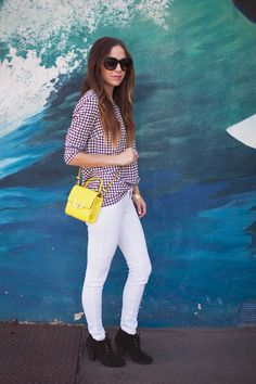 Merrick's Art // Style + Sewing for the Everyday Girl : How To Style White Jeans | 30+ Outfit Ideas