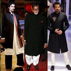 Like men in Indian attire