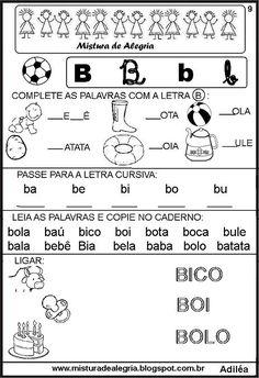 livro-das-familias-silabicas-letra+B-imprimir-colorir.JPG (464×677)