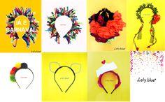A coleção de tiaras e headbands para o carnaval, já está se esgotando. Restam poucas peças. Não fique de fora neste carnaval. Tiara bonfim (R$ 15,00)  Tiara pompom (R$ 10,00) Tiara barquinho (R$ 15,00)  Tiara flora (R$ 20,00)  Frida headband (R$ 22,00) Tiara gatinha (R$ 15,00) Feitas a mão e com o coração. Pedidos pela nossa fanpage no facebook; Inbox e por e-mail. (contatolalyblue@gmail.com) www.facebook.com/lalybluelembrancascriativas #handmad