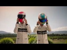 Chandon- Jenson Button & Fernando Alonso - A Friendly race 2016