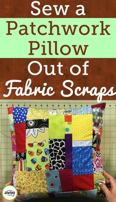 Whether you're new to sewing or you've been doing it for years, you've probably got more than a few pieces of scrap fabric lying around. Tara Rex shows you how to turn those scraps into fun fabric scrap projects by doing a patchwork. Patchwork is the process of piecing together lots of little pieces of fabric in order to create a larger piece.