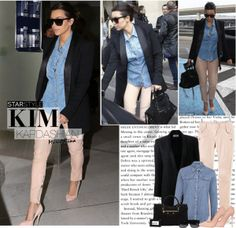 """1489. Celeb Style : Kim Kardashian (02.05.2014)"" by munarina on Polyvore"