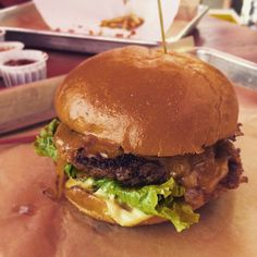 Pin for Later: All the Food Porn You're Missing at SXSW Burger Deliciousness Part Two