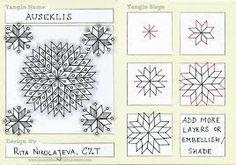 Resultado de imagen para zentangle patterns step by step