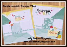 CTMH summer vibes, summer scrapbook layout, beach scrapbook layouts, lake scrapbook layout, swimming pool scrapbook layouts,Beachball scrapbook layouts, surfboard scrapbook layouts Beach Scrapbook Layouts, Scrapbooking Layouts, Summer Vibes, Summer Fun, Scissor Sisters, Workshop Layout, August Summer, Day Countdown, Over The Moon