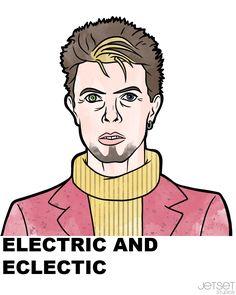 Time May Change Him... David Bowie | Jetset Studios