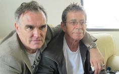 Morrissey and Lou Reed <3