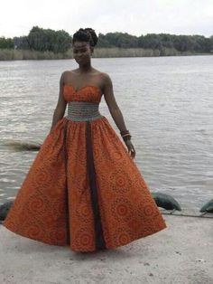 Love the dress ~ African Style