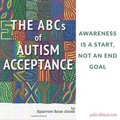 Starting with Autism Awareness Disability Awareness Month, Writing, Being A Writer, Letter