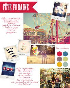 à la fête forraine http://www.lamarieeauxpiedsnus.com/carnet-dinspirations/carnet-dinspiration-fete-foraine
