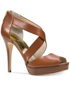 Michael Michael Kors Ariel Platform Dress Sandals