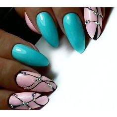 57 decorated nails very easy for you to do! See all Page 20 of 57 simple-nail-art-with-stripes-and-glitter-do-it-yourself-diy - Nail Designs Pink Nails, Glitter Nails, Gel Nails, Nail Polish, Glitter Dust, Fabulous Nails, Gorgeous Nails, Trendy Nails, Cute Nails