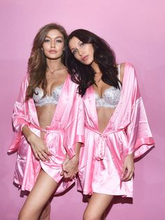 Bella Hadid and Gigi Hadid Victoria Secret