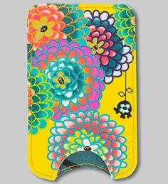 NEW collection.. PYLONES - iphone case IPP VOYAGE dahlia