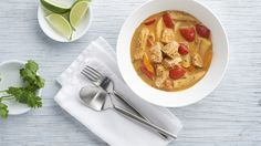 Make it a perfectly balanced plate & serve with: Clean Recipes, Easy Healthy Recipes, Epicure Recipes, Menu, Good Food, Yummy Food, Spice Mixes, Nut Free, Thai Red Curry