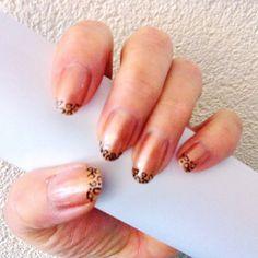my panter tip nails