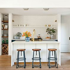 Stylish Kitchen Islands: Shining Kitchen Island