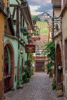 Salzburg, Austria. I would love to roam through this little village. How awesome is this.
