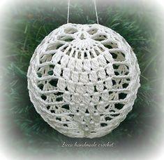 Ravelry: Christmas ball ornament pattern by Ilona Ziber