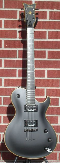 Schecter DIAMOND SERIES PROTOTYPE Blackjack ATX Solo-6 Black Winter pickups 2014 6-String Electric Guitar