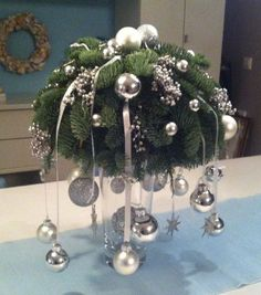 20 Magical Christmas Centerpieces That Will Make You Feel The Joy Of The Holidays Magical Christmas, Noel Christmas, Christmas Quotes, Christmas Wreaths, Christmas Ornaments, Christmas Wishes, Beautiful Christmas, Christmas Arrangements, Christmas Table Decorations