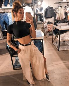 trendy summer fashion ideas that make you more sweet look 46 - Summer Outfits Spring Outfits, Trendy Outfits, Cute Outfits, Fashion Outfits, Womens Fashion, Fashion Ideas, Latest Fashion, Teenager Fashion Trends, Mode Ootd