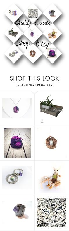 """""""Purple and Friends"""" by fibernique ❤ liked on Polyvore"""