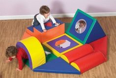 Childrens Factory CF322-391 Shape & Play Obstacle Course by Children's Factory. $537.87. Gross motor skills develop in a child during their infancy through their toddler years and the Shape and Play Obstacle Course from Children's Factory is designed to help in the development of these important skills. This 11-piece set includes mats with a